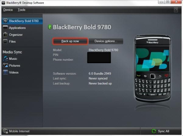 rubrica blackberry su samsung
